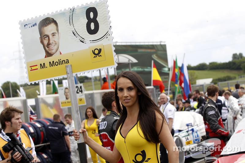Grid kızı: Miguel Molina, Audi Sport Takımı Abt Audi RS 5 DTM