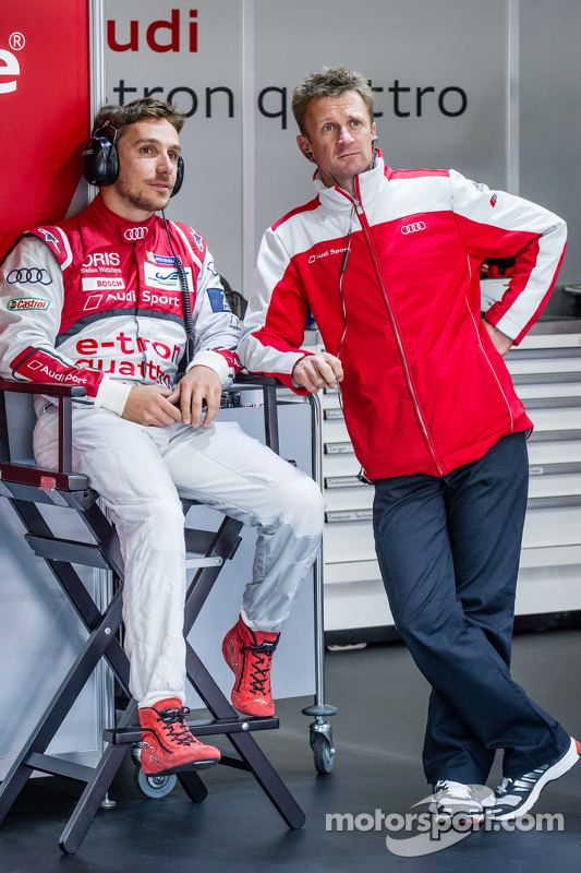 Filipe Albuquerque ve Allan McNish