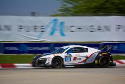 #48 Paul Miller Racing Audi R8 LMS: Christopher Haase & Germany Bryce Miller
