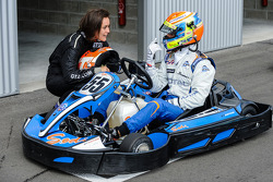 Media/drivers karting race: Nelson Panciatici