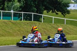 Media/drivers karting race: Benoit Tréluyer