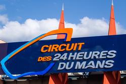 Logo del circuito de las 24 horas de Le Mans