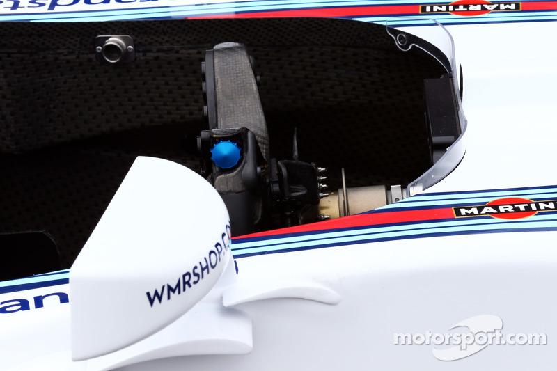 Williams FW36 volante