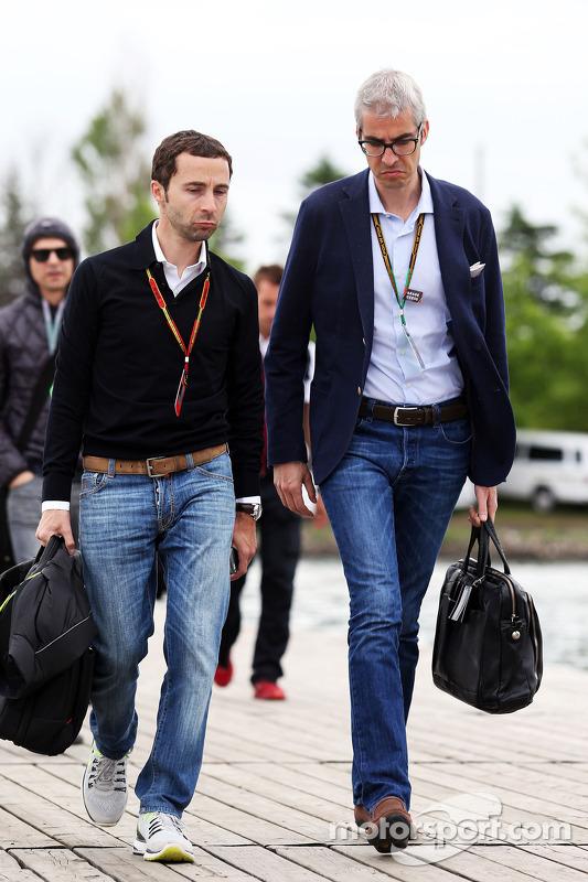 Nicolas Todt, Manager de pilotos