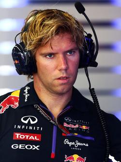 Antti Kontsas, Kişisel Antrenör of Sebastian Vettel, Red Bull Racing
