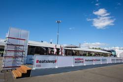 Nissan Motorsports hospitality