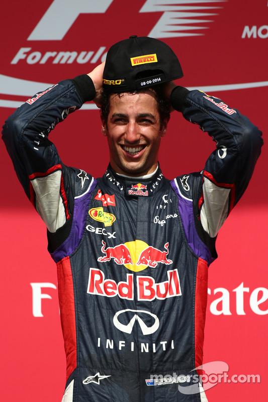 Primeiro lugar: Daniel Ricciardo, Red Bull Racing
