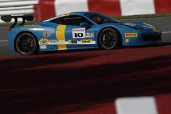 #10 Ferrari of Fort Lauderdale Ferrari 458: Henrik Hedman