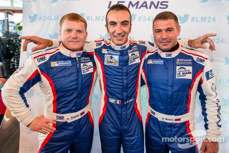 Viktor Shaitar, Andrea Bertolini and Alexey Basov