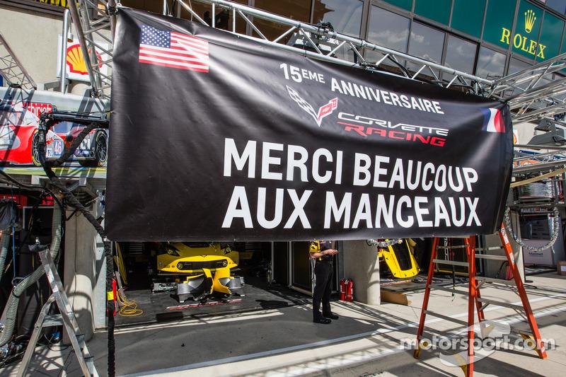 Messaggio di ringraziamento da Corvette Racing per i tifosi di Le Mans