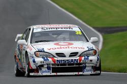 Keith Butcher, David Leslie 1999 BTCC Nissan Primera ST