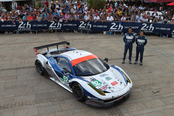 #52 RAM Racing Ferrari 458 İtalya: Matt Griffin, Alvaro Parente, Federico Leo