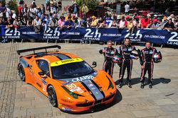 #90 8 Star Motorsports 法拉利 458 Italia: 弗兰基·蒙泰卡尔沃, 吉安卢卡·洛达, 保罗·鲁贝蒂