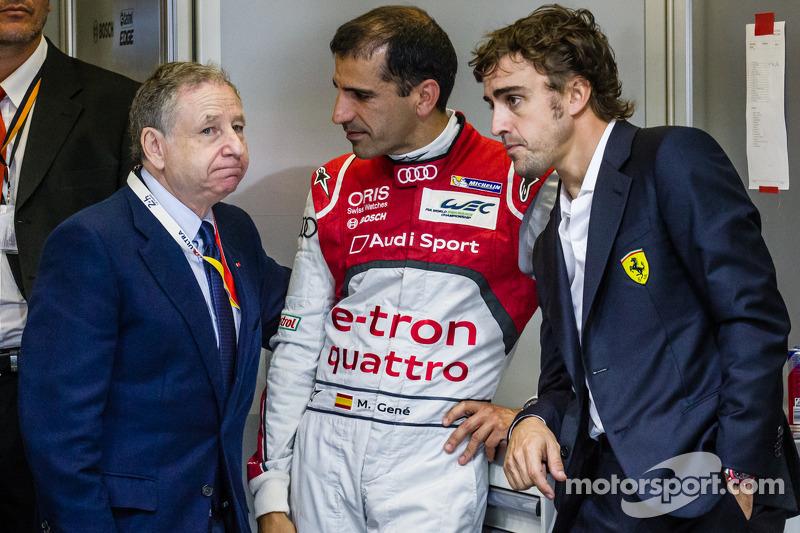 Jean Todt, Marc Gene e Fernando Alonso