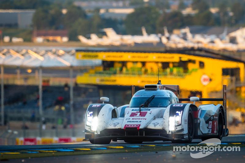 #1 Audi Sport Joest Takımı Audi R18 E-Tron Quattro: Lucas Di Grassi, Marc Gene, Tom Kristensen