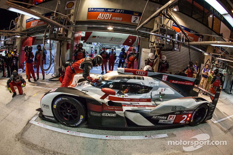The 2014 24 hours of le mans in photos for Garage audi tours