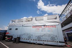 Mathol Racing transporter