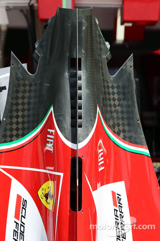 Ferrari F14-T engine cover