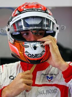 玛鲁西亚F1车队车手马克斯·齐尔顿