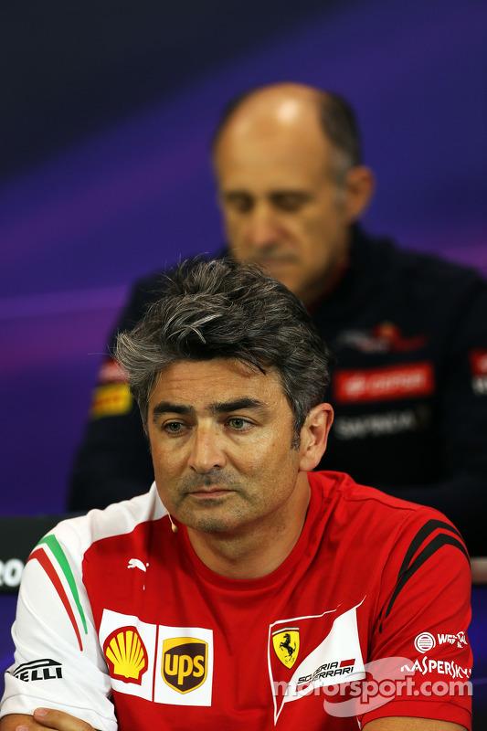 Marco Mattiacci, chefe de equipe de F1 da Ferrari, em conferência de imprensa da FIA