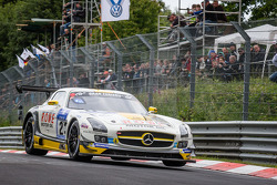 #23 Rowe Racing Mercedes-Benz SLS AMG GT3: Klaus Graf, Jan Seyffarth, Thomas Jäger, Richard Göransson