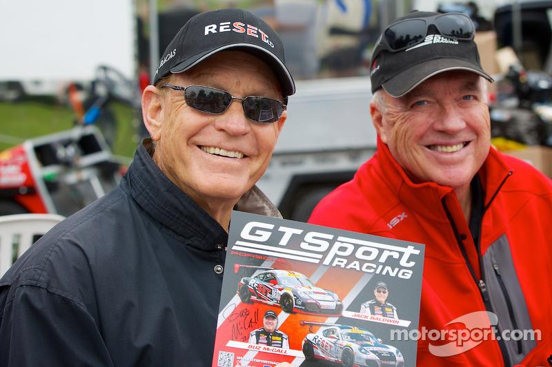 GTsport Corse Jack Baldwin (a sinistra) e Buz McCall (a destra)