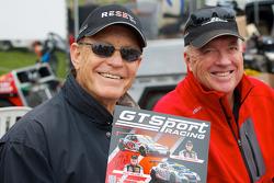 GTSport赛事,杰克·鲍德温(左)和布兹·麦考(右)