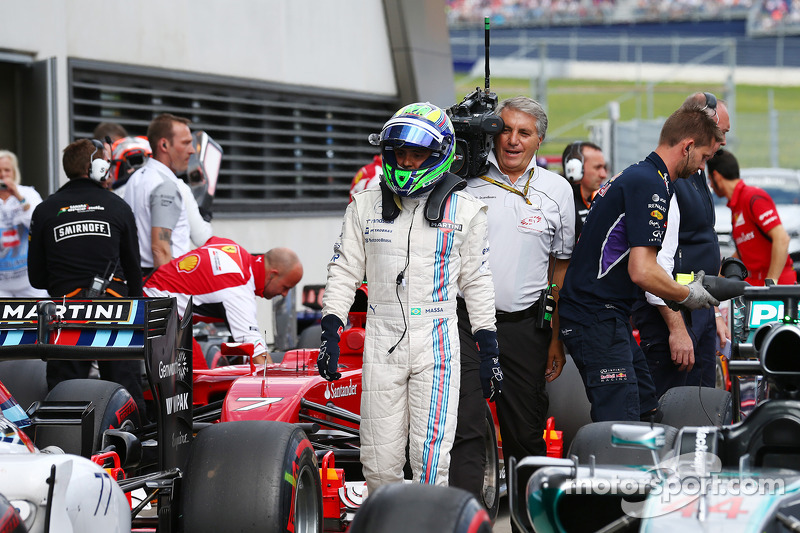 Felipe Massa, Williams FW36 gets pole position 21