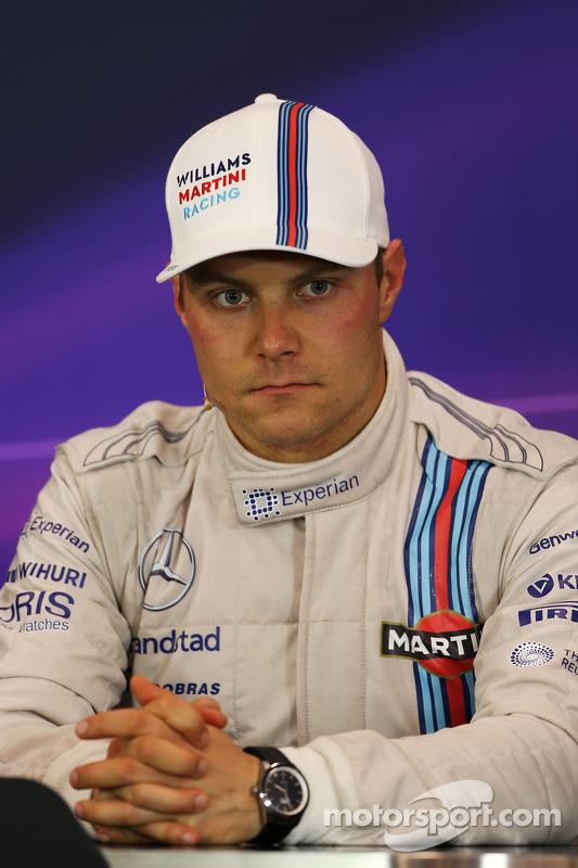 Valtteri Bottas, Williams na conferência de imprensa pós-corrida