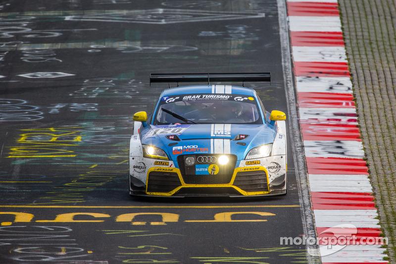 #120 LMS Engineering Audi TT RS: Daniela Schmid, Christopher Tiger, Roland Botor, Constantin Kletzer