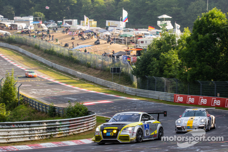 #123 Scuderia Colonia e.V. 奥迪 TT RS: Matthias Wasel, Thomas Wasel, Marcos Löhnert, Roman Löhnert