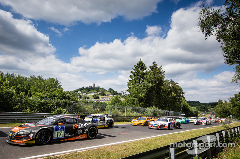 Via: #17 WRT Racing Team Audi R8 LMS ultra: Roman Rusinov, Stéphane Ortelli, Edward Sandström, Nico Müller