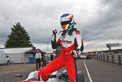 Race winner Matt Rao