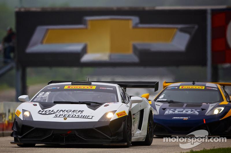 #25 Reiter Engineering Lamborghini Gallardo FL2: Tomas Enge