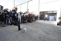 Mikko Hirvonen gioca a calcio