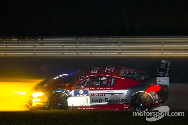 #18 奥迪 Race Experience 奥迪 R8 LMS ultra: 拉哈尔·弗莱, Christiaan Frankenhout, 多米尼克·巴斯蒂安, Christian Bollrat