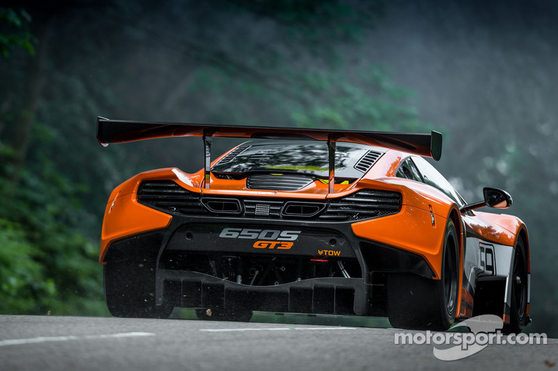 La McLaren 650s GT3