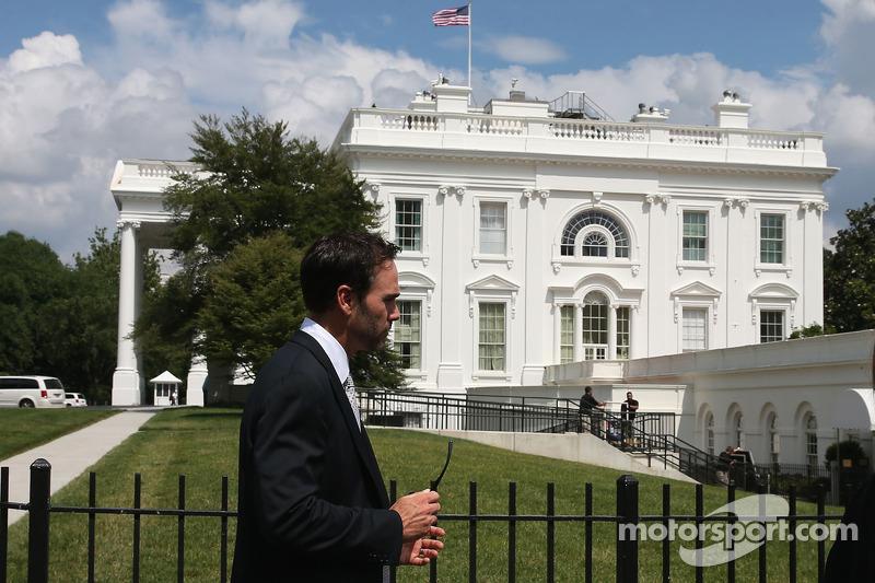 Jimmie Johnson in visita alla Casa Bianca