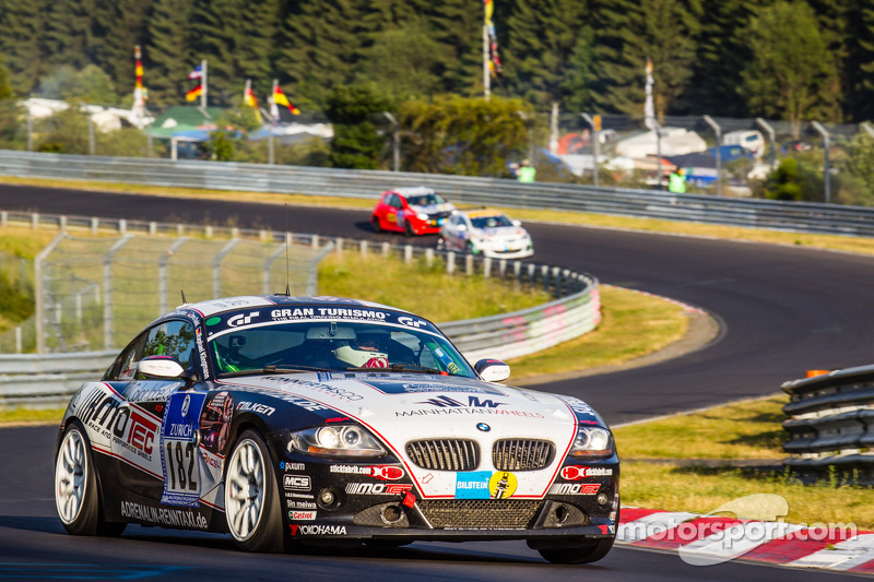 #182 Adrenalin Motorsport 宝马 Z4 3.0si: 和reas Schettler, Raphael Klingmann, Jens Dahl