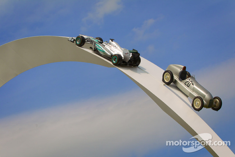 Goodwood Speed Festivali 2014 Mercedes Sergisi