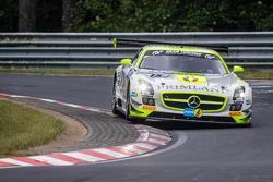 #15 HTP Motorsport 梅赛德斯-奔驰 SLS AMG GT3: 哈罗德·普里马, 马克西米利安·格策, 肯尼斯·海尔, 罗兰·雷费尔德