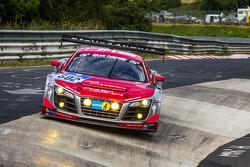 #502 Audi Race Experience Audi R8 LMS ultra: Felix Baumgartner, Marco Werner, Frank Biela, Pierre Kaffer