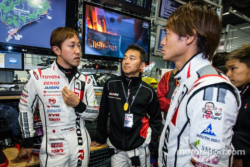 Hiroaki Ishiura, Takayuki Kinoshita e Juichi Wakisaka