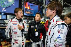 Hiroaki Ishiura, Takayuki Kinoshita ve Juichi Wakisaka