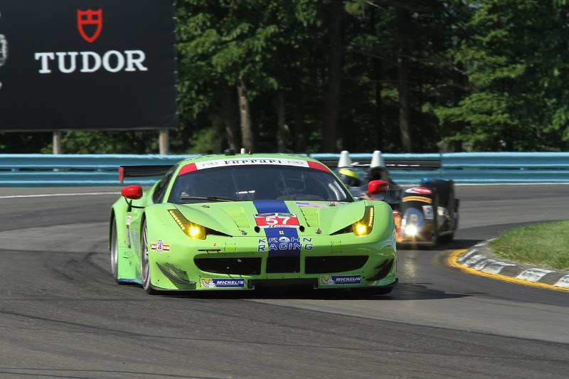 #57 Krohn Racing 法拉利 F458: 特雷西·克龙, 尼克·琼森