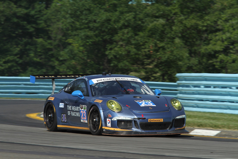 #23 #23 Team Seattle/Alex Job Racing Porsche 911 GT America: Ian James, Mario Farnbacher