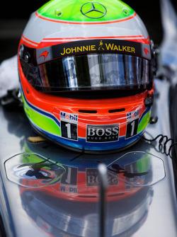 Stoffel Vandoorne's Helmet