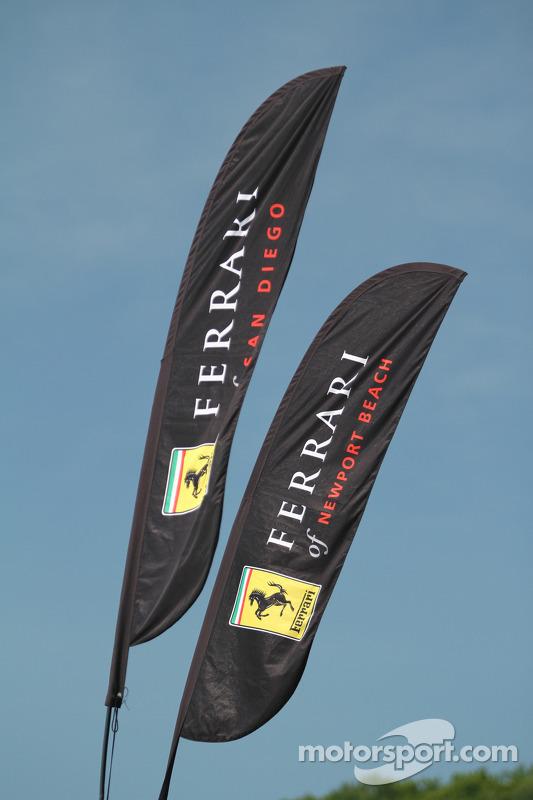 Ferrari flags