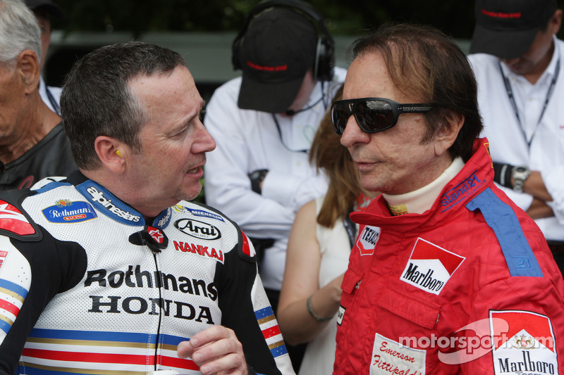 Freddie Spencer ve Emerson Fittipaldi