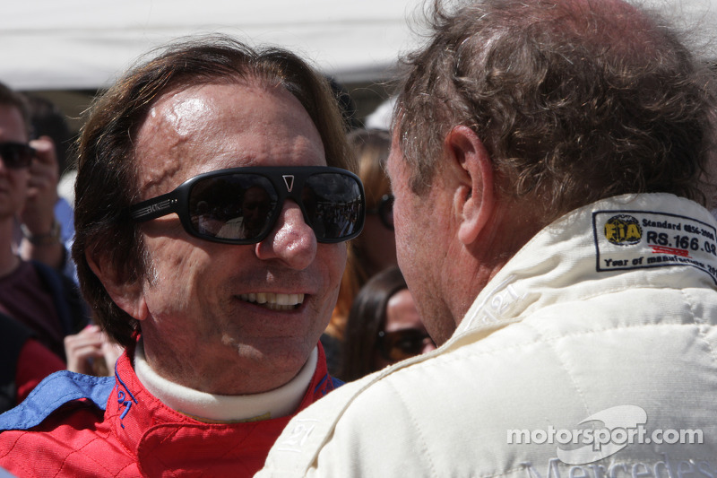 Emerson Fittipaldi and Jochen Mass